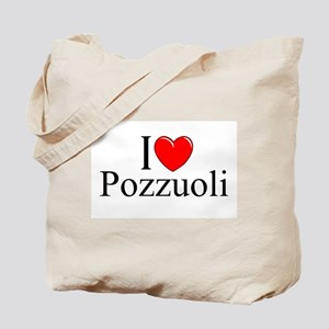 """I Love (Heart) Pozzuoli"" Tote Bag"