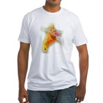 Spotted Jewelweed Fitted T-Shirt