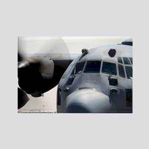 C-130 Hercules Rectangle Magnet