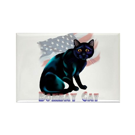 The Bombay Cat Rectangle Magnet (100 pack)