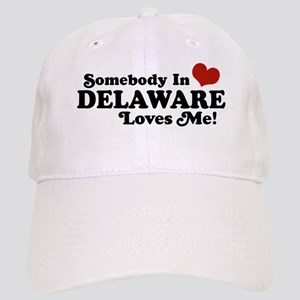 Somebody in Delaware Loves me Cap