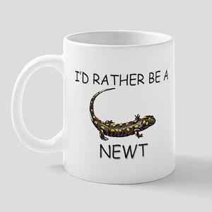 I'd Rather Be A Newt Mug