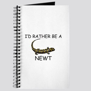 I'd Rather Be A Newt Journal