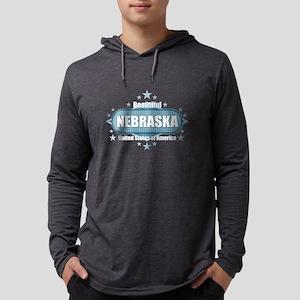 Beautiful Nebraska USA Long Sleeve T-Shirt