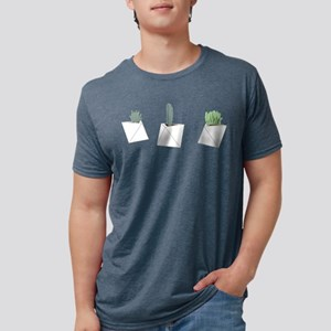 Succulents Mens Tri-blend T-Shirt