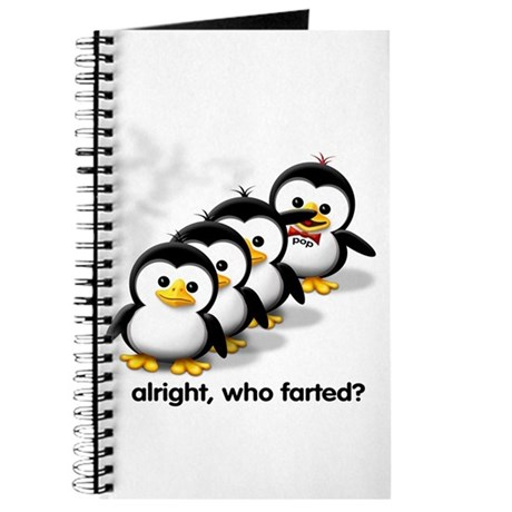"""Who Farted?"" Journal"