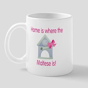Home is where the Maltese is Mug
