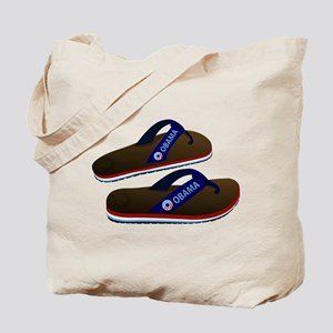 Anti Obama Flip Flops Tote Bag