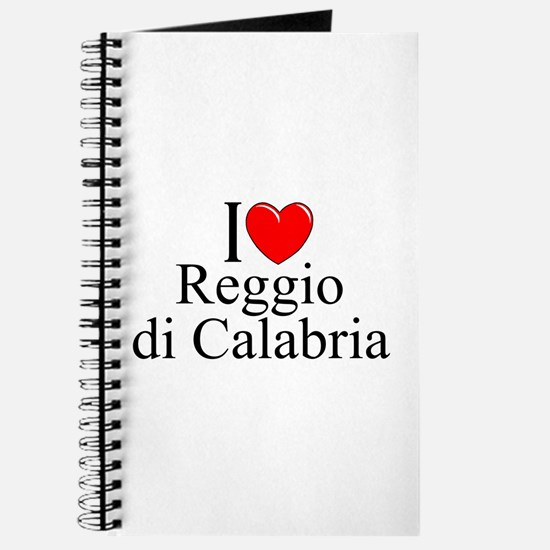 """I Love (Heart) Reggio di Calabria"" Journal"