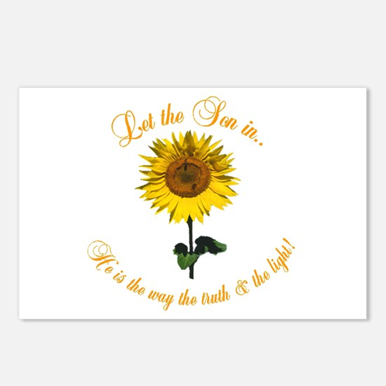 Let the Son In Postcards (Package of 8)