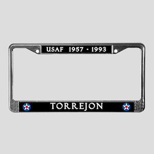 Torrejon Air Base License Plate Frame