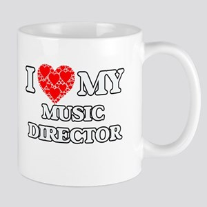 I Love my Music Director Mugs