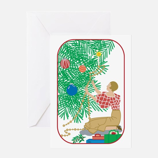 Tree trimmer Greeting Card