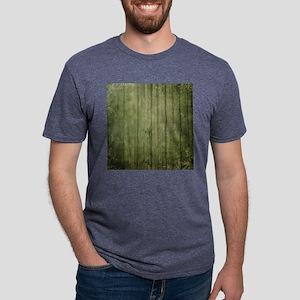 Yellow wood panel texture Mens Tri-blend T-Shirt