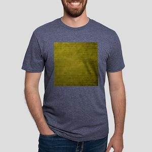 Yellow brick texture Mens Tri-blend T-Shirt
