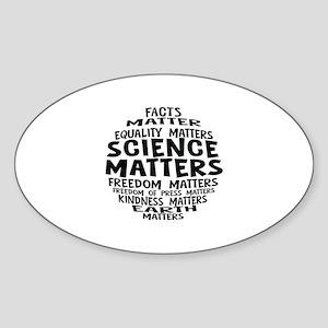 Science Matter Bubble Sticker