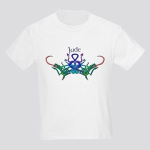 Jude's Celtic Dragons Name Kids T-Shirt
