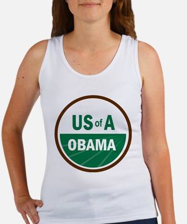 USofA Organic Obama Women's Tank Top