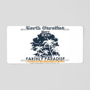 North Carolina - Kure Beach Aluminum License Plate