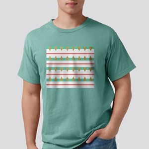 Mint Coral gold Triangle Stripes Mens Comfort Colo