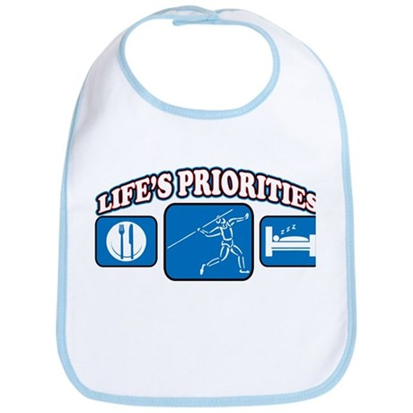 Life's Priorities Javelin Bib