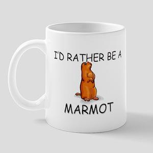 I'd Rather Be A Marmot Mug