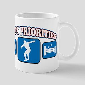 Life's Priorities Discus Mug