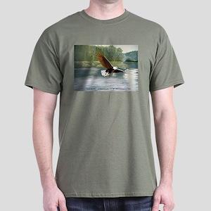 American Bald Eagle Flight Dark T-Shirt