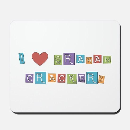 graham cracker Mousepad