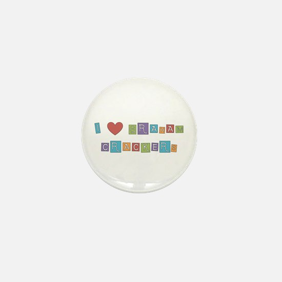 graham cracker Mini Button