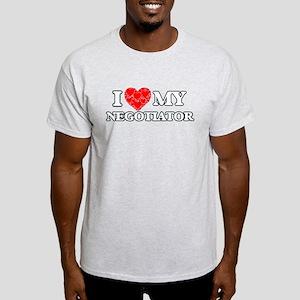 I Love my Negotiator T-Shirt