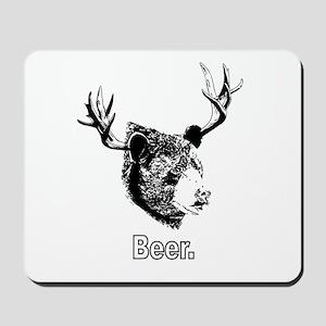 Beer! T-shirt Mousepad