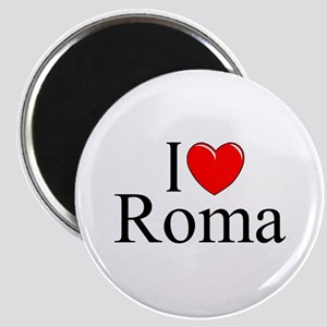 """I Love (Heart) Roma"" Magnet"