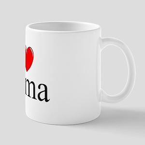 """""""I Love (Heart) Roma"""" Mug"""