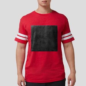 Black Gray Grunge Texture Mens Football Shirt