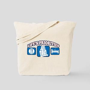 Life's Priorities Women Tote Bag