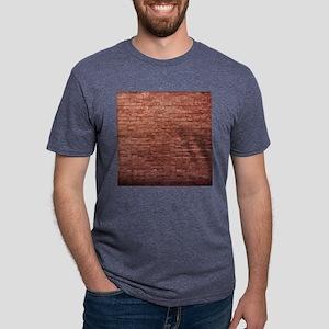 Rustic Rugged Urban Bricks Mens Tri-blend T-Shirt