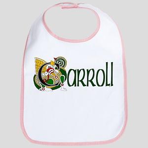 Carroll Celtic Dragon Bib