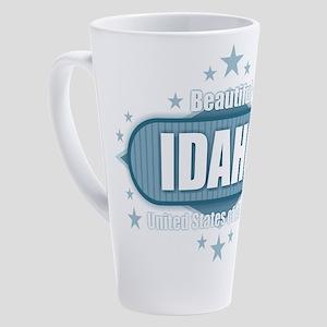 Beautiful Idaho USA 17 oz Latte Mug