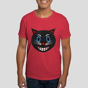 Vintage Black Cat Dark T-Shirt