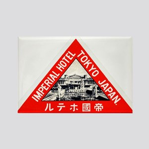 Imperial Hotel, Tokyo Rectangle Magnet