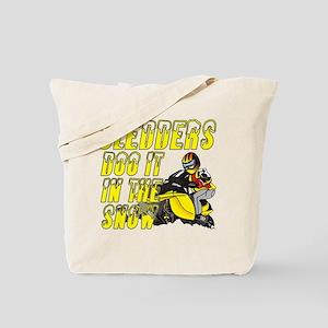 Sledders Doo Tote Bag