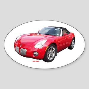 Pontiac Solstice Oval Sticker