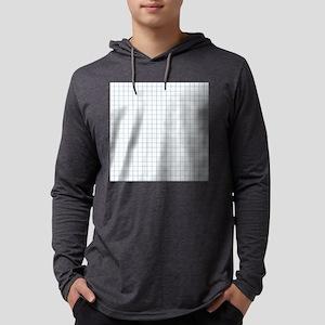 Graph Paper Mens Hooded Shirt