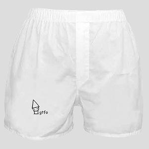 Gtfo gnome Boxer Shorts