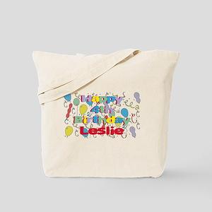 Leslie's 4th Birthday Tote Bag
