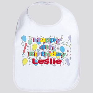 Leslie's 4th Birthday Bib