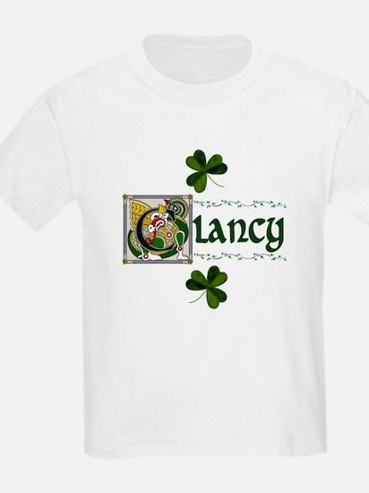Clancy Celtic Dragon Kids T-Shirt