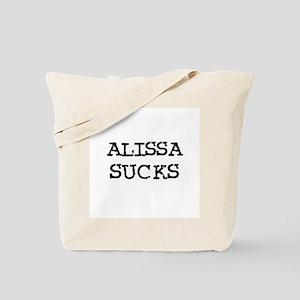 Alissa Sucks Tote Bag