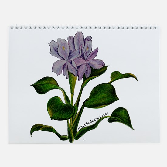 Unique Flower and art Wall Calendar